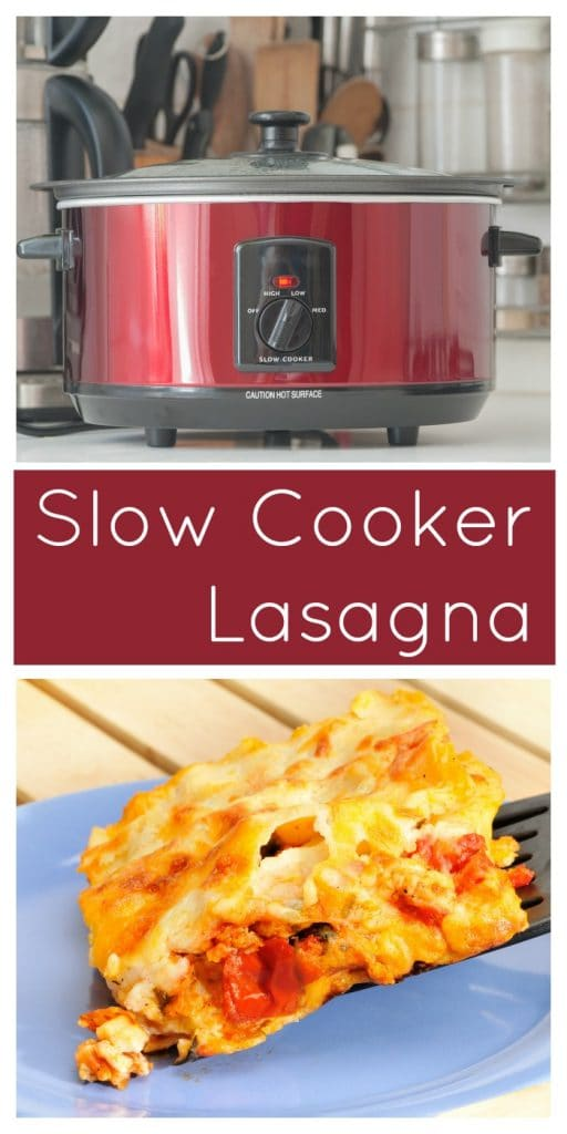 Easy Slow Cooker Lasagna Recipe - Moments With Mandi