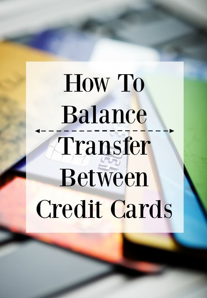 How to balance transfer between credit cards
