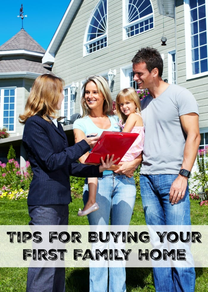 Tips for Buying Your First Family Home - Moments With Mandi Tips For Buying Your First Home on buying business, buy my first home, buying our first house,