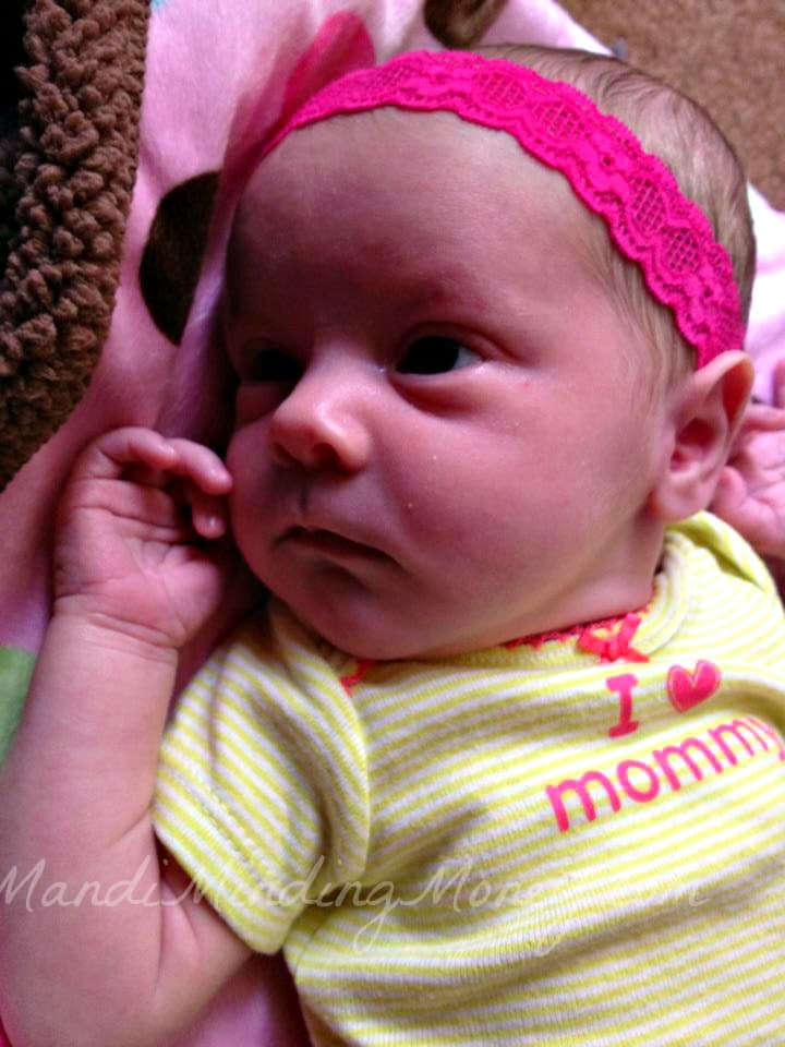 baby girl is 2 weeks old moments with mandi