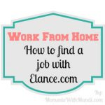 Work From Home: How Do I Find A Job With Elance?