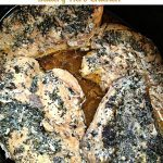 Crock Pot Buttery Herb Chicken