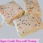 Sugar Cookie Bars {Recipe}