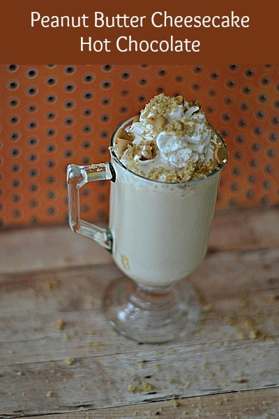 peanut butter cheesecake hot chocolate recipe