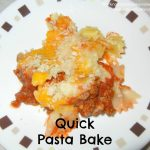 Quick Pasta Bake Recipe