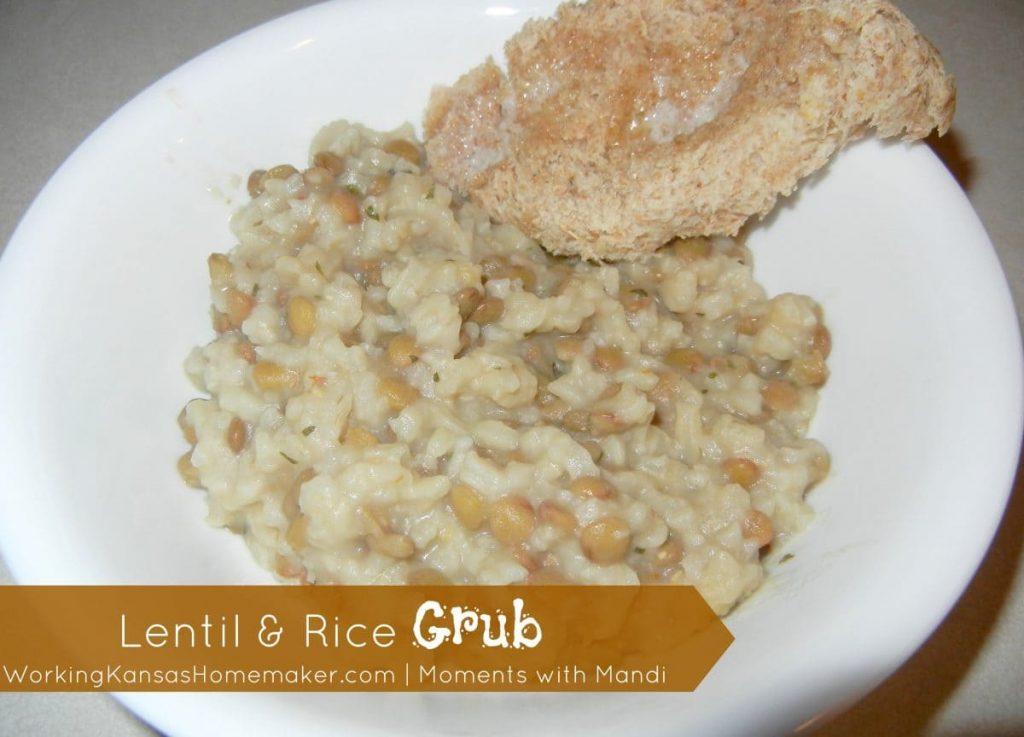 Lentil and Rice Grub