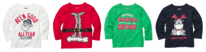 oshkosh holiday shirts