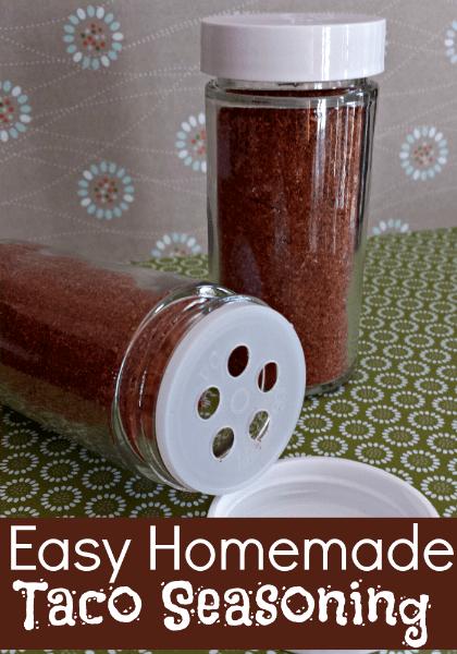 Easy Homemade Taco Seasoning