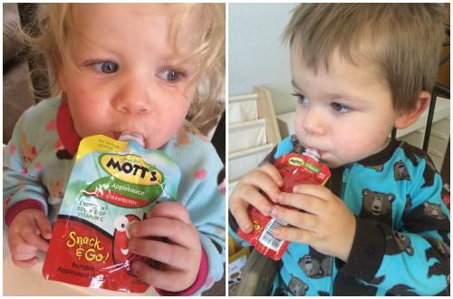 Mott's snack and go applesauce