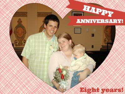 eight year anniversary