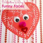 Sweet and Simple Valentine's Day Funny Faces Craft