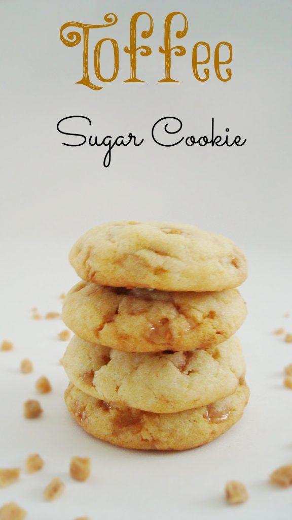 Toffee Sugar Cookies recipe