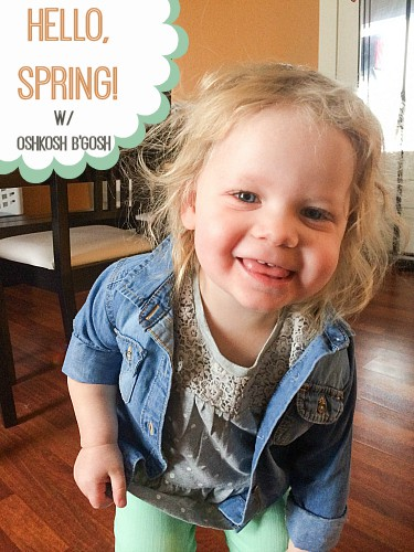 OshKosh b'Gosh Spring Line Review
