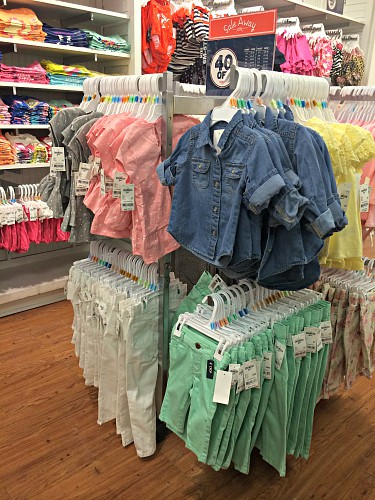 OshKosh b'Gosh spring 2014 baby girls