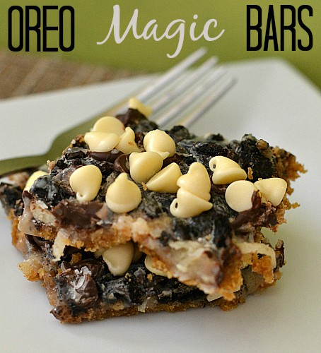 Oreo Magic Bars