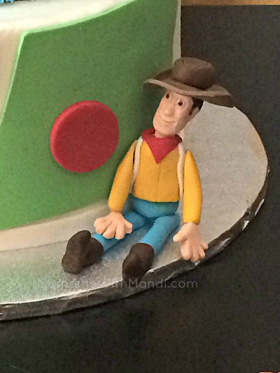 Woody Toy Story Birthday Cake