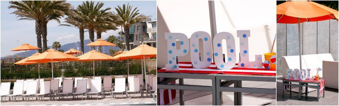 Annenberg Beach House Santa Monica Pool Party by Huggies