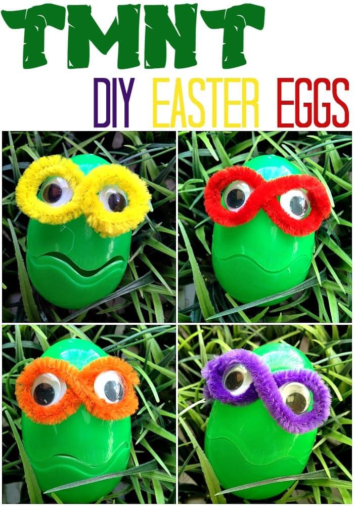 DIY TMNT Easter Eggs