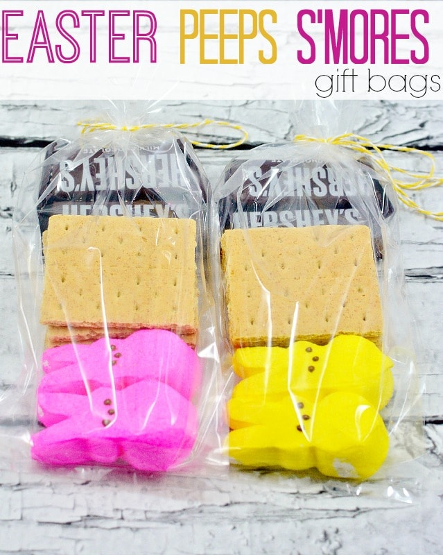 Easter peeps smores gift bag moments with mandi easter peeps smores gift bags negle Gallery