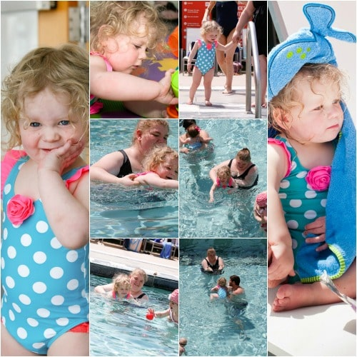 Huggies Tend Pool Party Mommy and Me Swim Class