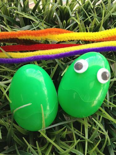 Teenage Mutant Ninja Turtles DIY Easter Eggs