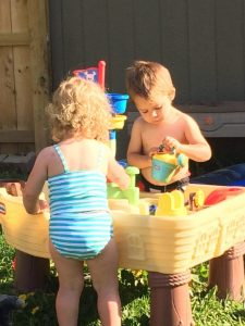Little Tikes pirate water table