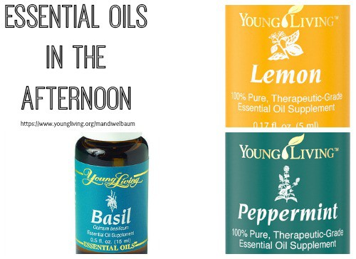 Essential Oils in the Afternoon
