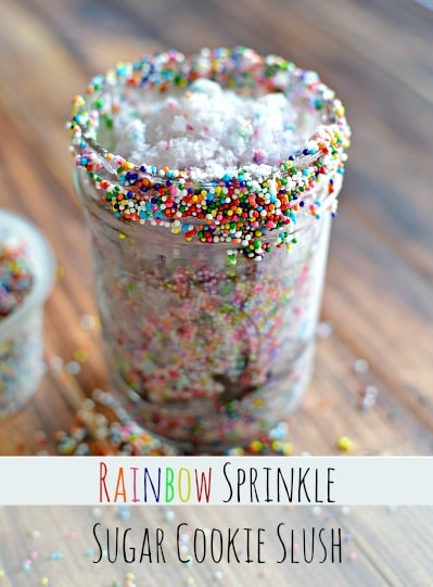 Rainbow Sprinkle Sugar Cookie Slush