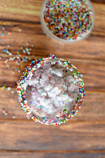 Rainbow Sprinkles Sugar Cookie Slushie