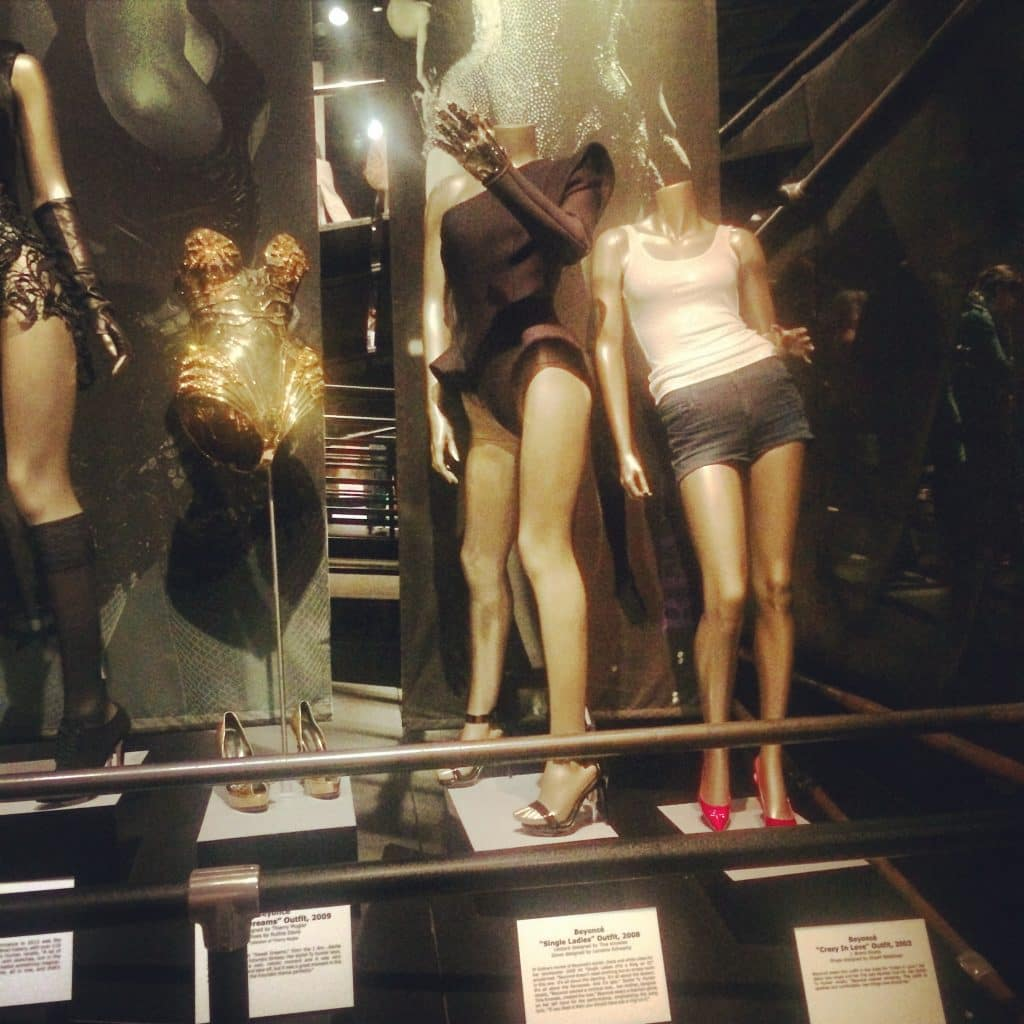Beyonce outfits at Rock and Roll Hall of Fame and Museum