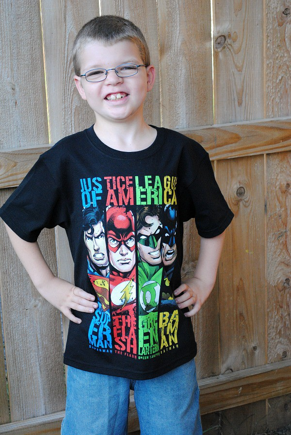 JCPenney That's My Kid Superhero Fashions For Boys