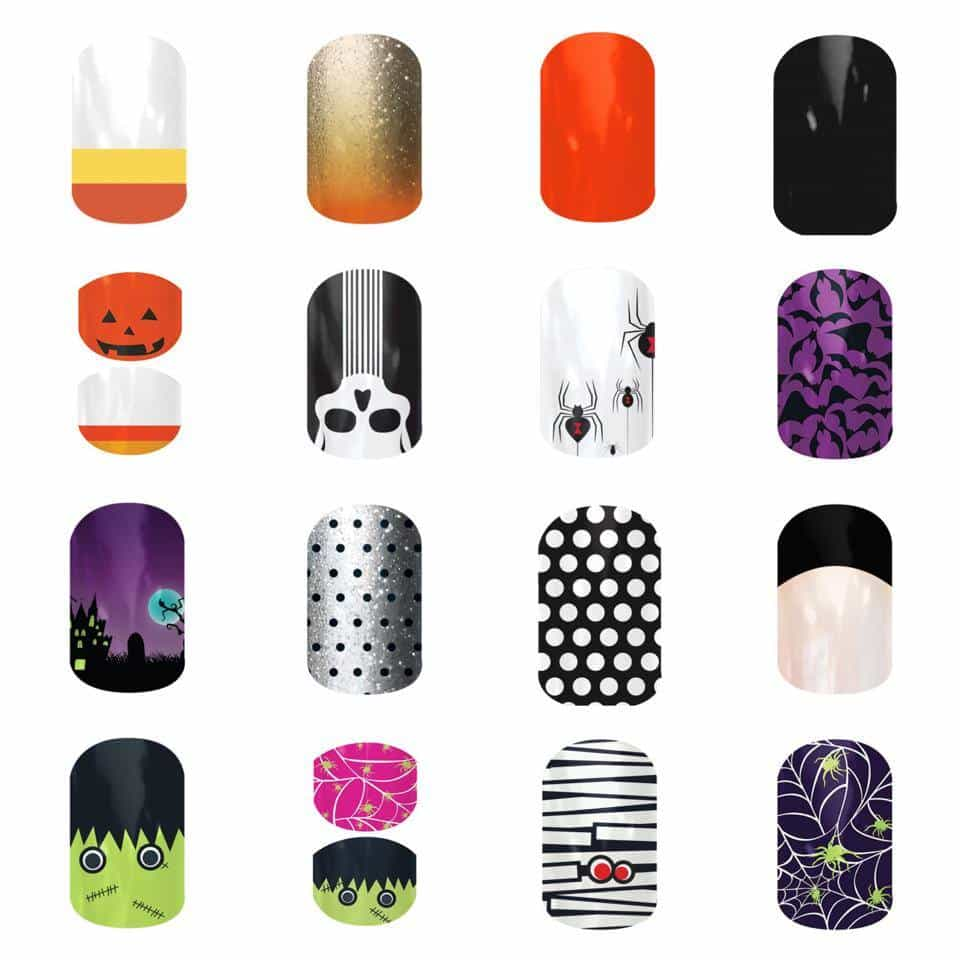 Halloween Jamberry Nails Designs for 2014