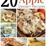 20 Delicious Apple Dessert Recipes