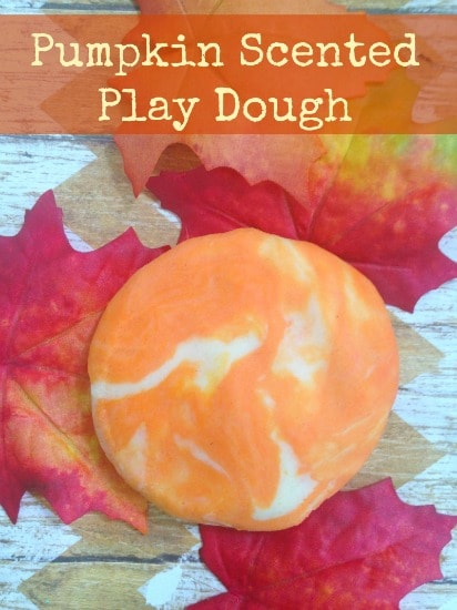 Pumpkin Scented Play Dough