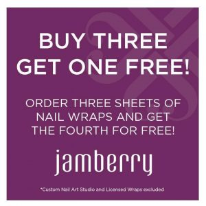 Jamberry Nails Buy 3 Get 1 Free