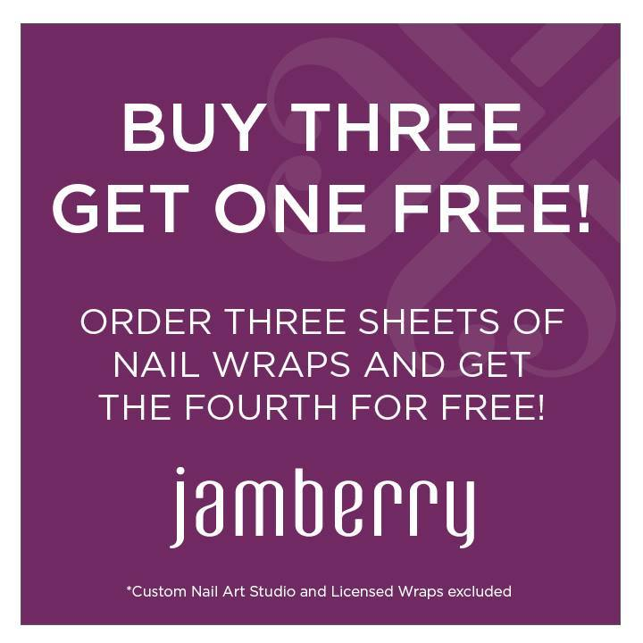 Jamberry Nails Buy 3 Get 1