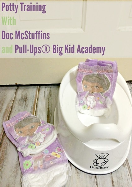 Potty Training with the Pull-Ups Big Kid Academy