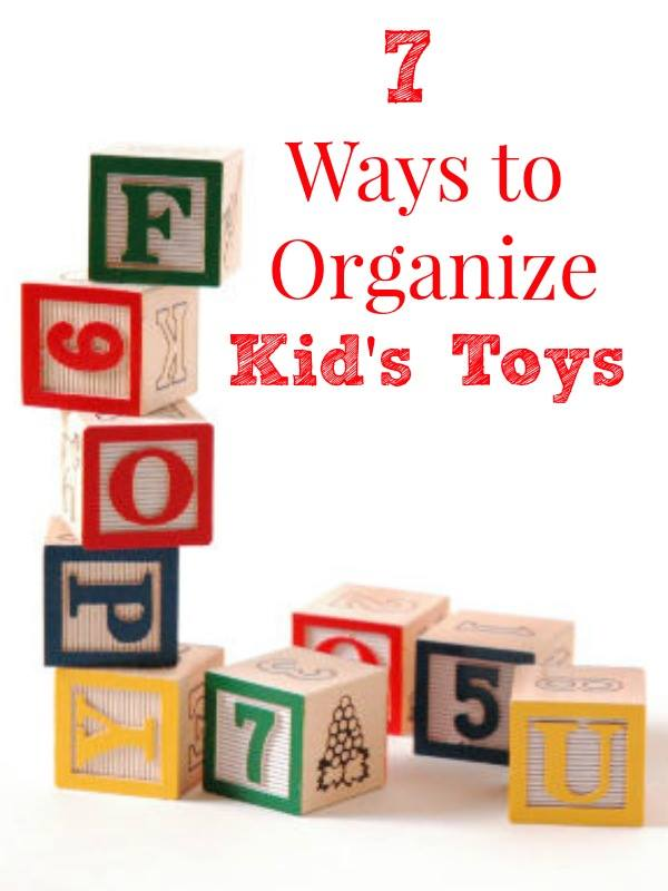 How To Organize Kid's Toys