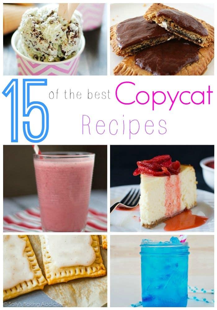 15 of the Best CopyCat Recipes