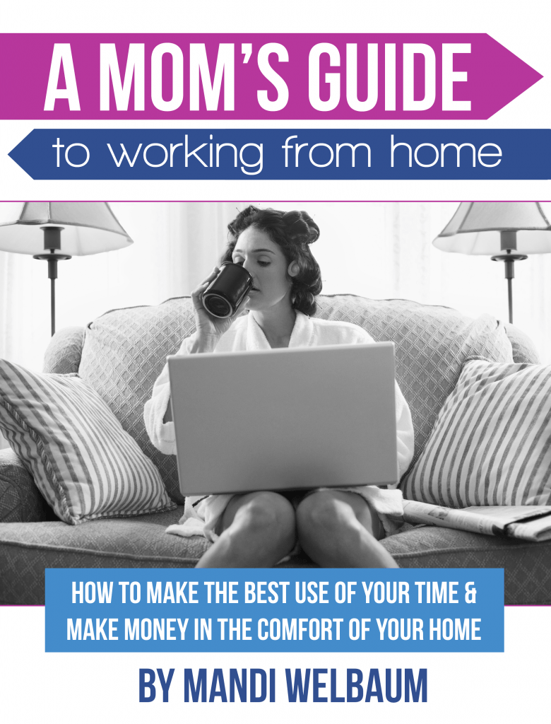 A Mom's Guide To Working From Home ebook