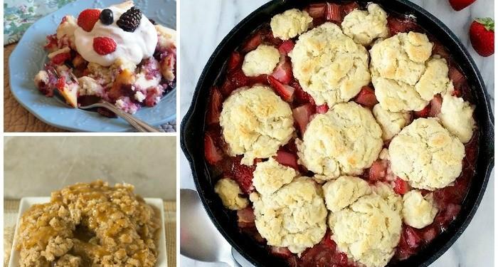 20 Delicious Cobbler and Crisp Recipes