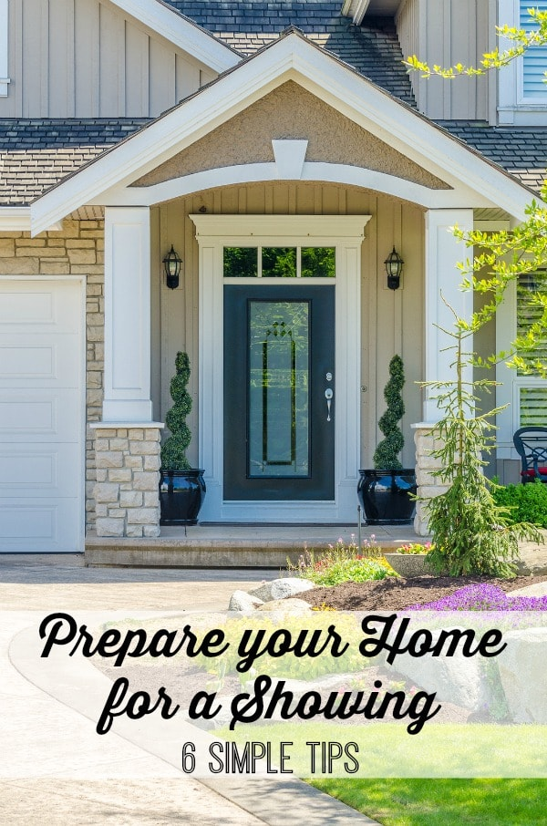 How to Prepare Your Home for a Showing