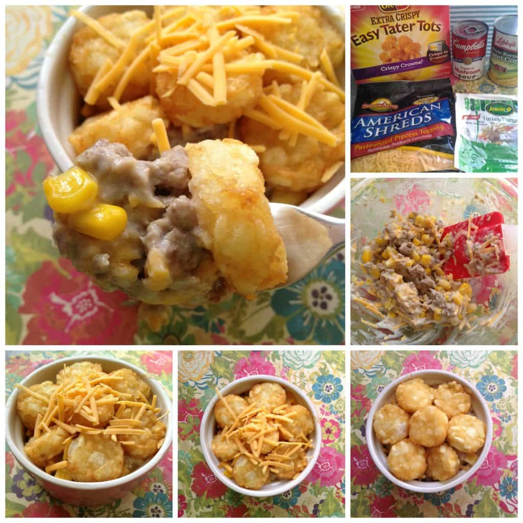 Dollar Tree Dinners: Tater Tot Casserole - Moments With Mandi