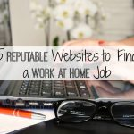 5 Reputable Websites to Find a Work at Home Job