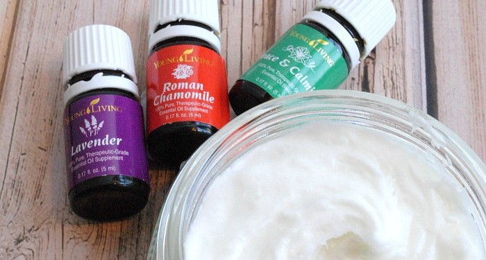 Sleepy Bedtime Essential Oil Whipped Lotion