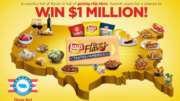 Lay's 'Do Us A Flavor' Tastes of America Contest   Submit Your Idea   Vote for a Winner