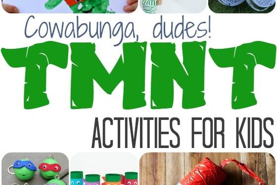 Teenage Mutant Ninja Turtle Kids Activities