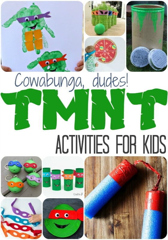 TMNT Activities for Kids