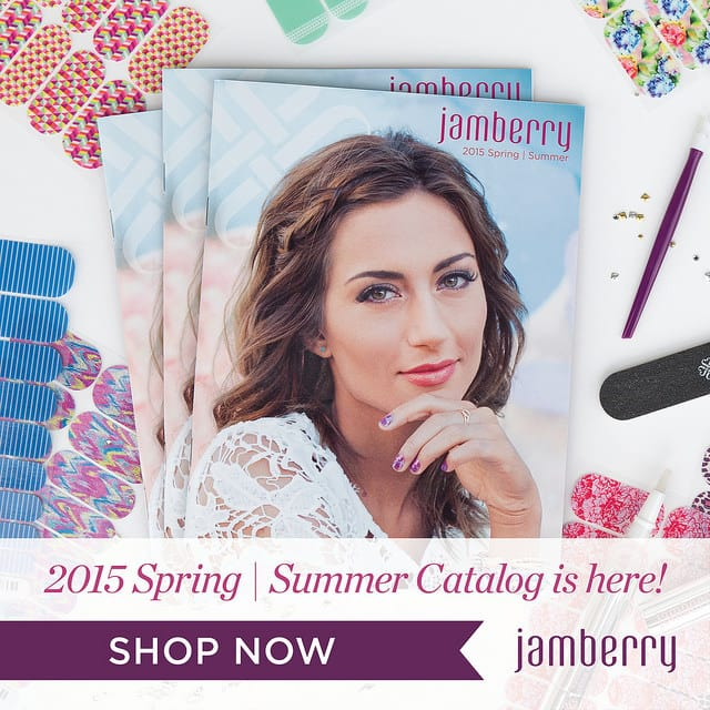 Brand new designs in the Spring/Summer 2015 Catalog from Jamberry Nails