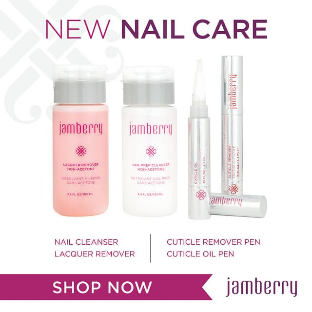 New nail care products from Jamberry for Spring/Summer 2015